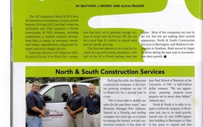 "Business NH Magazine Feature ""10 to Watch"""